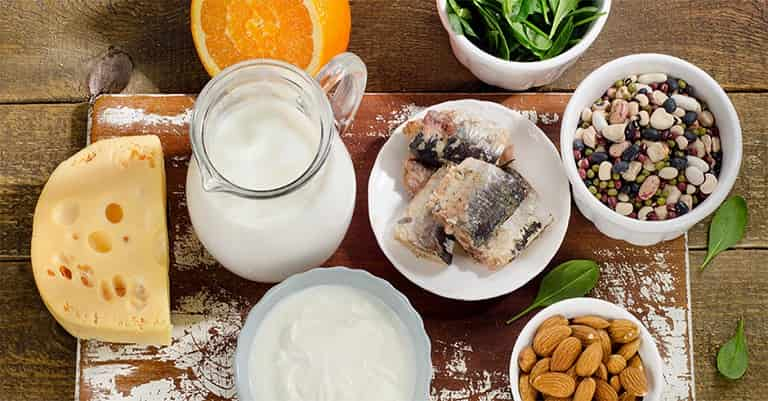 کلسیم و ویتامین دی