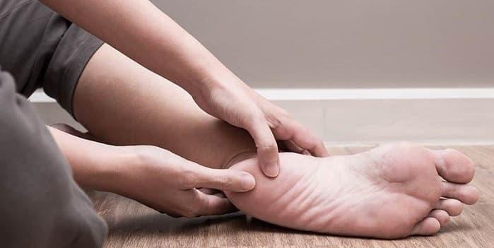 درمان خار پاشنه در کلینیک پا
