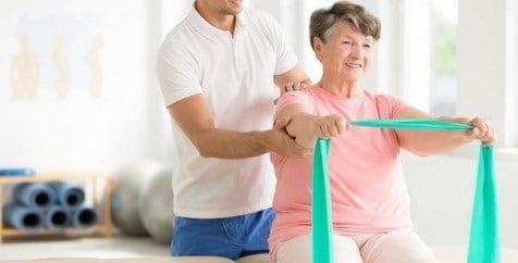 فیزیوتراپی برای درمان آلزایمر