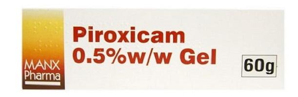ژل پیروکسیکام برای کاهش درد و التهاب استخوان، ماهیچه و مفصل