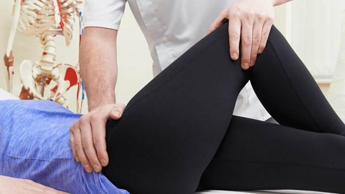 فیزیوتراپی جهت کاهش درد کشاله ران